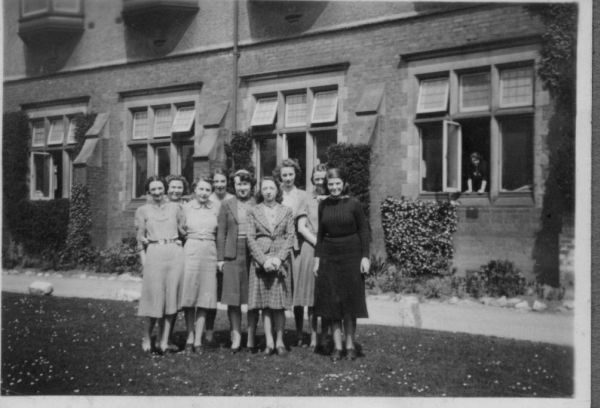 Civil Servants At Harrogate Ladies College, June 1940