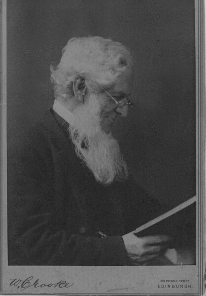 Studio Portrait Man Reading Book c.1912