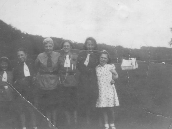 North Berwick Abbey Church Girl Guides Parents Day 1948