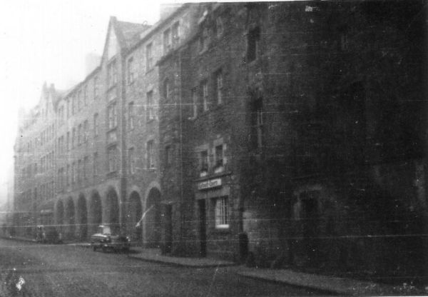 View Of The Canongate Mostly Free Of Traffic c.1950
