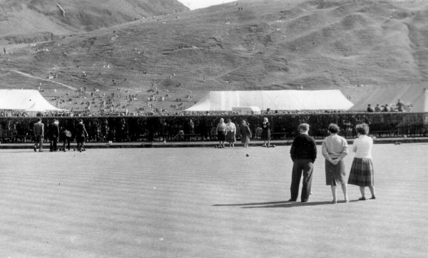 'Miners Day' At Queen's Park Bowling Green, Milton Street Club 1950s