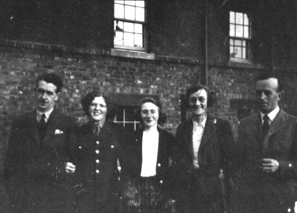 Wartime Family Portrait Taken At 39 Northfield Avenue c.1940