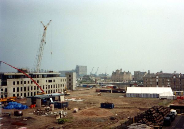 Construction Of The Scottish Executive Building Victoria Quay, 27th Oct 1994