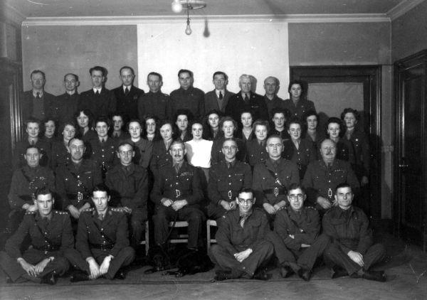 Scottish Command And ATS Staff Members c.1940