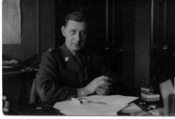 Staff Member Scottish Command c.1940