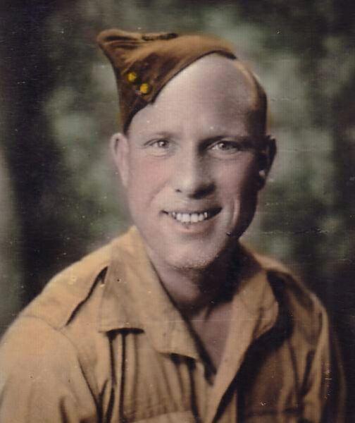 Studio Portrait Wartime Pen Pal 1943