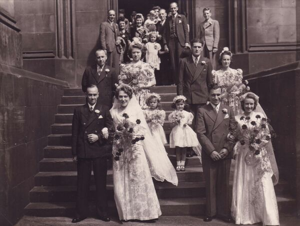 Double Wedding At St Giles Cathedral 1946