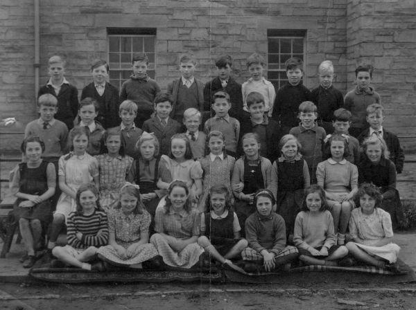 Pennywell School Class Portrait, April 1946