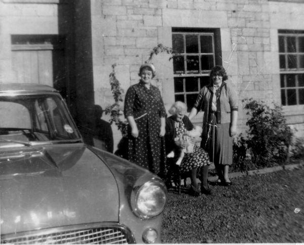 Great Grandmother, Grandmother, Mother, and Daughter, September 1959