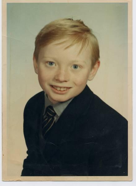 Primary School Portrait Boy 1966