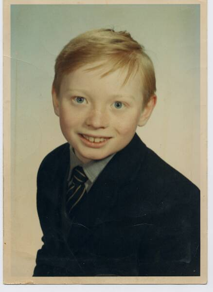 Primary School Portrait Young Boy 1966