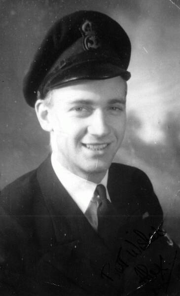 Portrait Fleet Air Arm Serviceman 1940