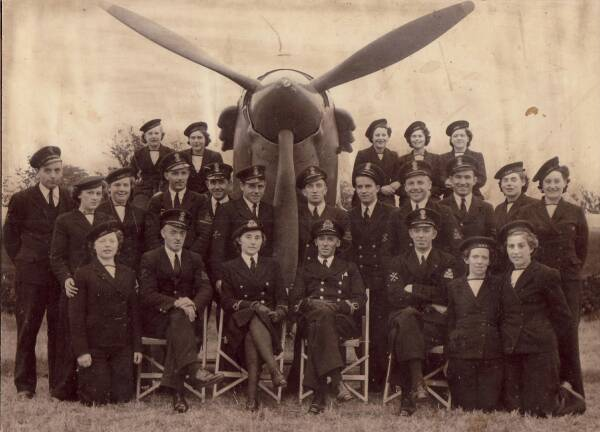 Women's Royal Naval Service Air Mechanics c.1943