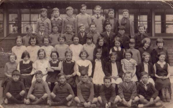 Gorgie Primary School Class Portrait c.1931
