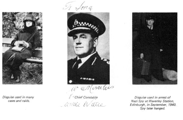 Willie Merriless Chief Constable Of Lothians And Peebles Police 1940s