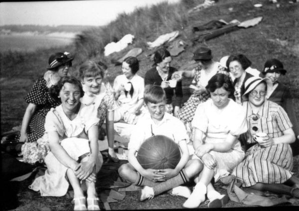 Day Out Amongst The Dunes c.1937