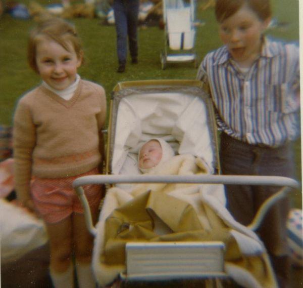 Family At Sunday School Picnic c.1968