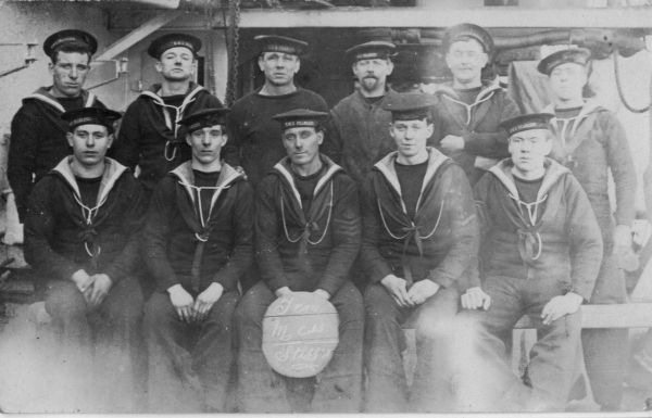 Crew Mates Of Unknown Vessel c.1918
