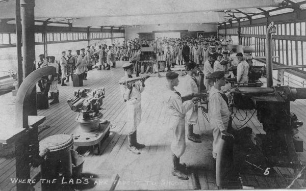 Naval College Gunnery School c.1918