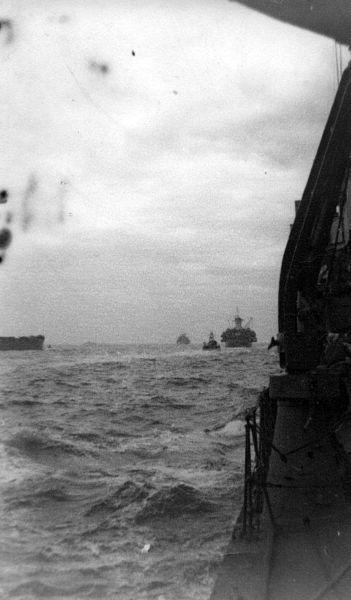 Naval Convoy 1940s