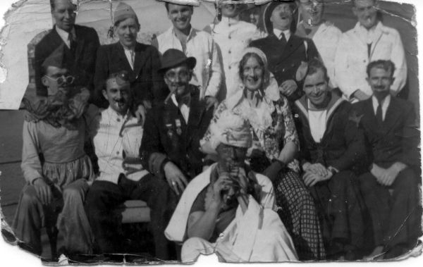 Tradition Of Dressing Up To Cross The Equator 1940s