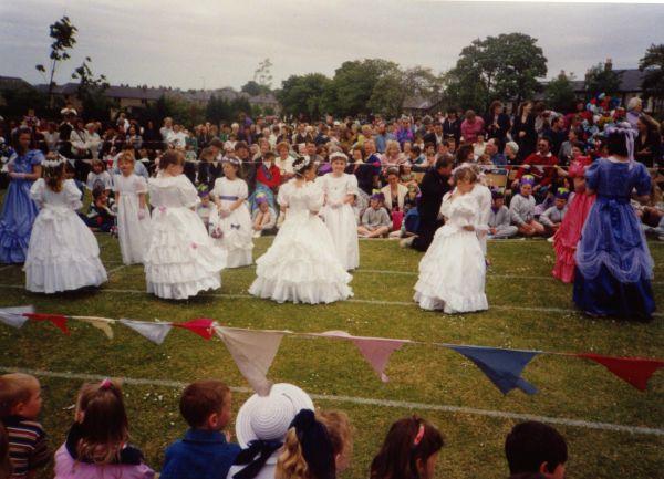 Newtongrange Gala Day Dress Competition c.1988