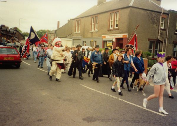 Newtongrange Gala Day Procession c.1988