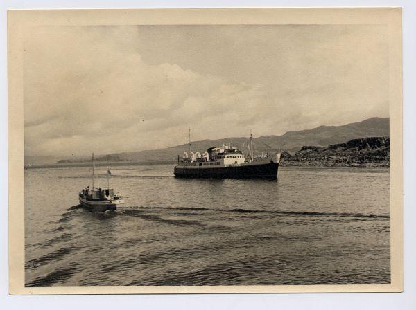 MV Loch Seaforth Off Mallaig, July 1963