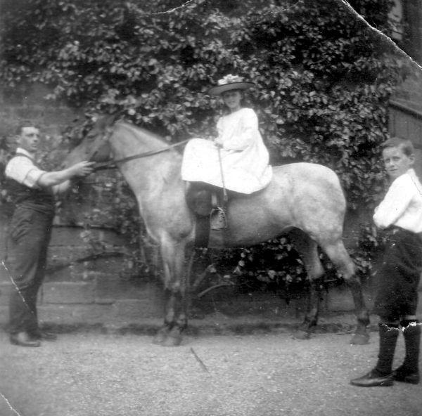 Girl On Horse c.1905