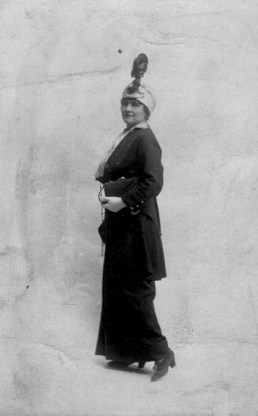 Studio Portrait of a Woman 1914