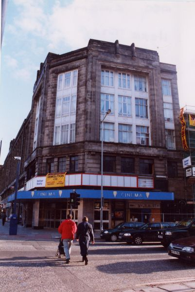 Entrance To ABC Cinema During Demolition Of Auditorium 2001
