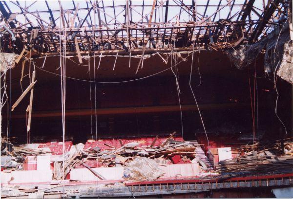 Demolition Of ABC Auditorium On Morrison Street 2001
