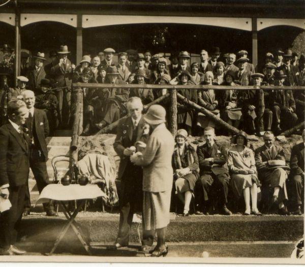 Bowling Prize Presentations 1930s