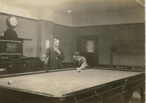 Billiard Players 1920s