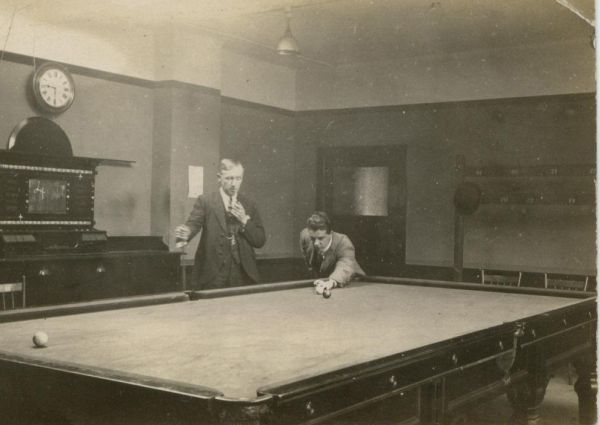 Billiard Players 1920s