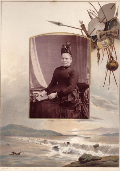 Page From Colonial Photograph Album c.1900