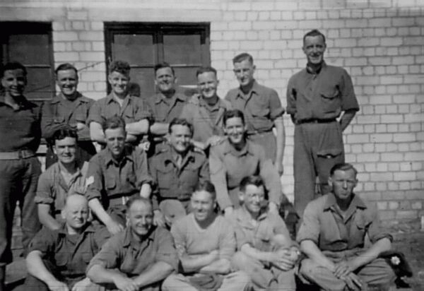 Newly Arrived Troops 1945