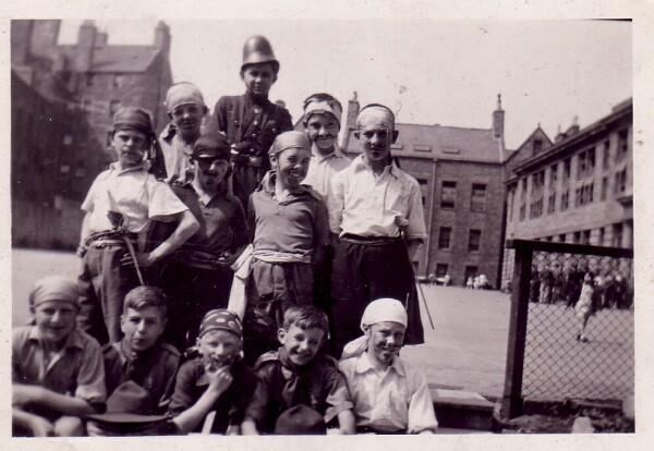 Moray House School Pupils In Fancy Dress c.1925