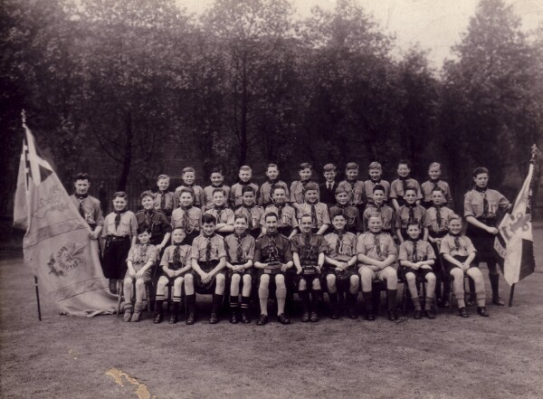 Holyrood Scout Troop 1920s