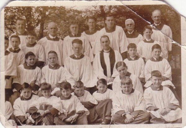 Holy Trinity Church Choir c.1935