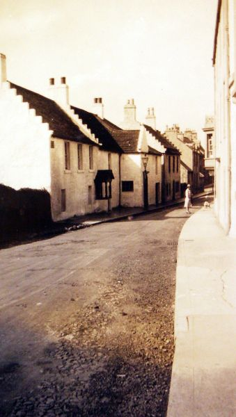 South Street In Elie Looking West 1929