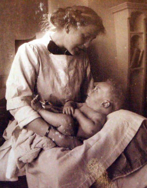 Young Mother And Son 1913