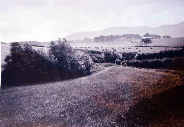 Braidburn Valley Looking Toward Comiston Farm, Pentlands In Background c.1920