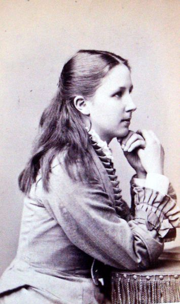 Studio Portrait Victorian Girl, 6 November 1876