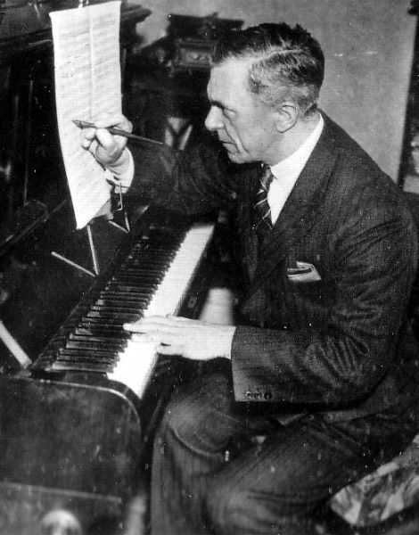 Musician Composing At The Piano c.1937