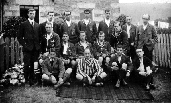 Members Of Unspecified Sporting Team c.1910