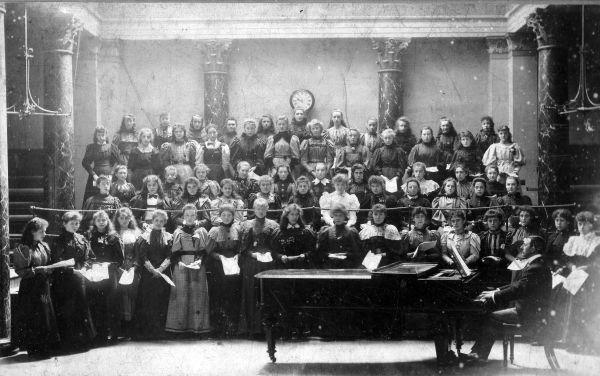 Girls Choir, July 1896