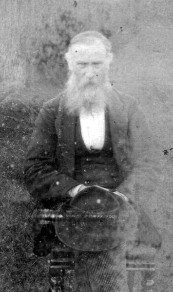 Portrait Retired Schoolmaster 1870s