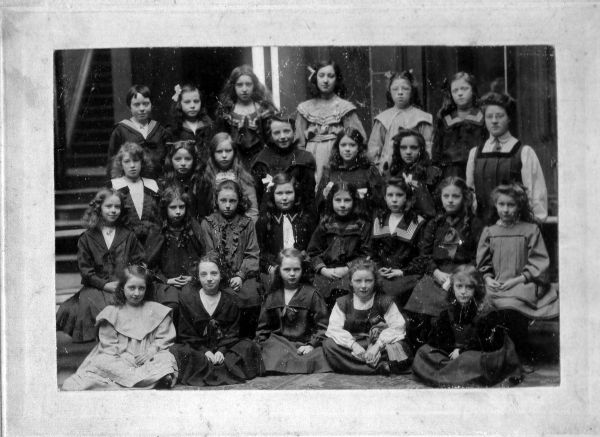 Class Of Schoolgirls Of Unidentified School c.1904