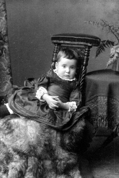 Studio Portrait Young Girl 1887